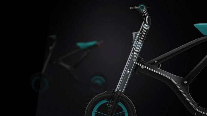 Yunmake smart bike - 2