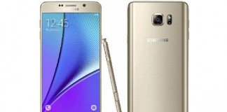 Galaxy Note 5 Gold Platinum