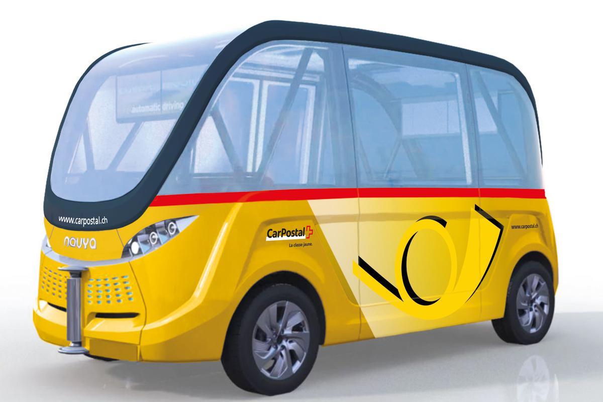 Bus sans chauffeur