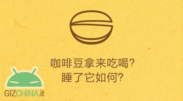 Xiaomi teaser caffè