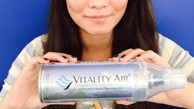 Vitality Air, aria in bottiglia