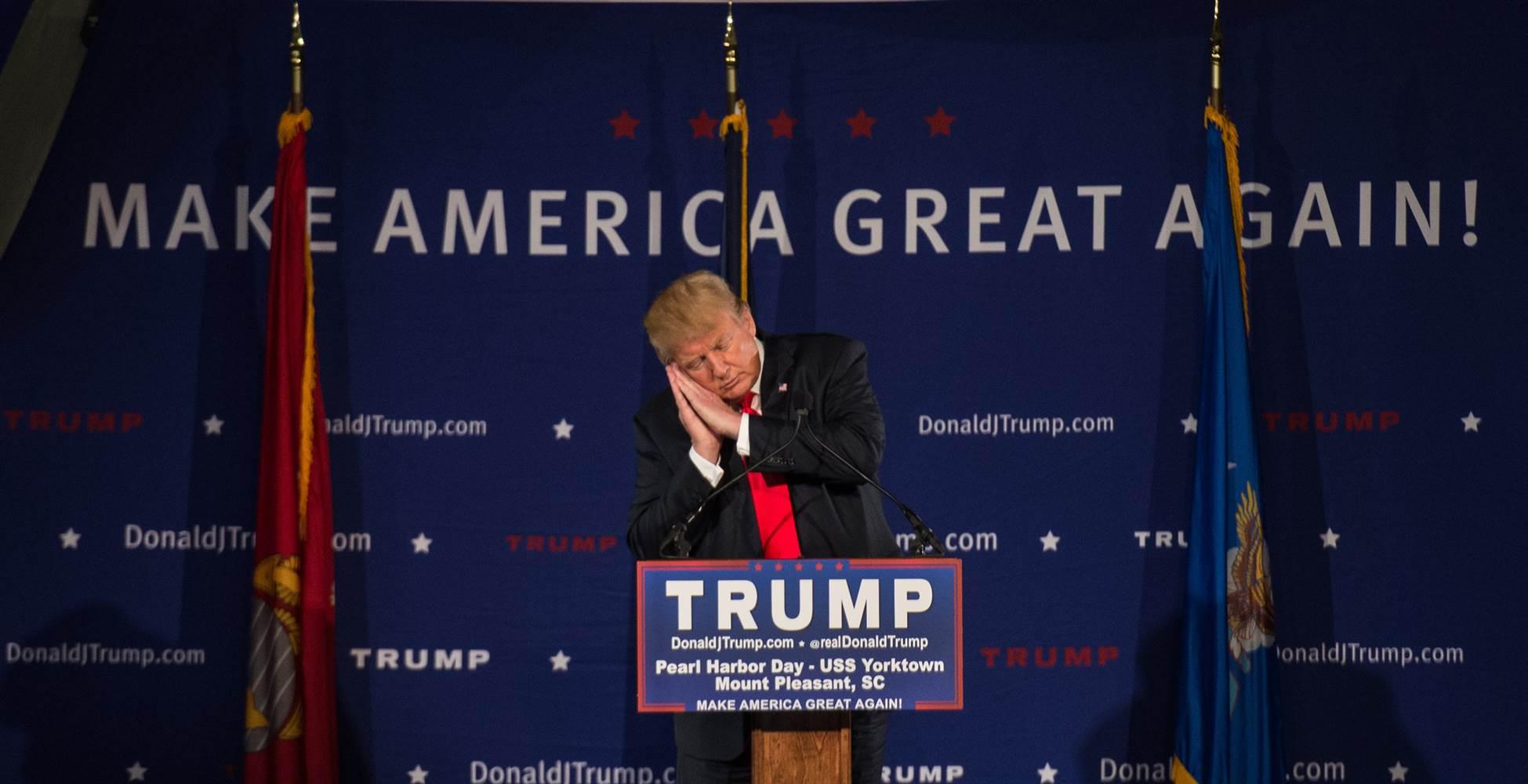 Donald Trump USS Yorktown