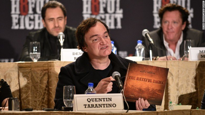 The Hateful Eight van Quentin Tarantino