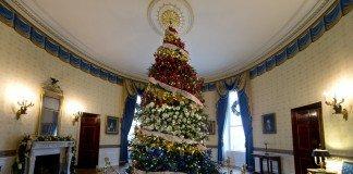 Alberi di Natale alla Casa Bianca
