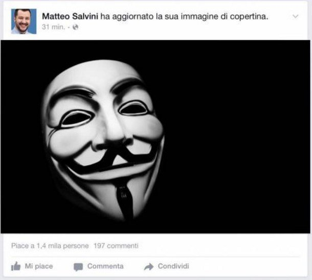 Anonymous Salvini