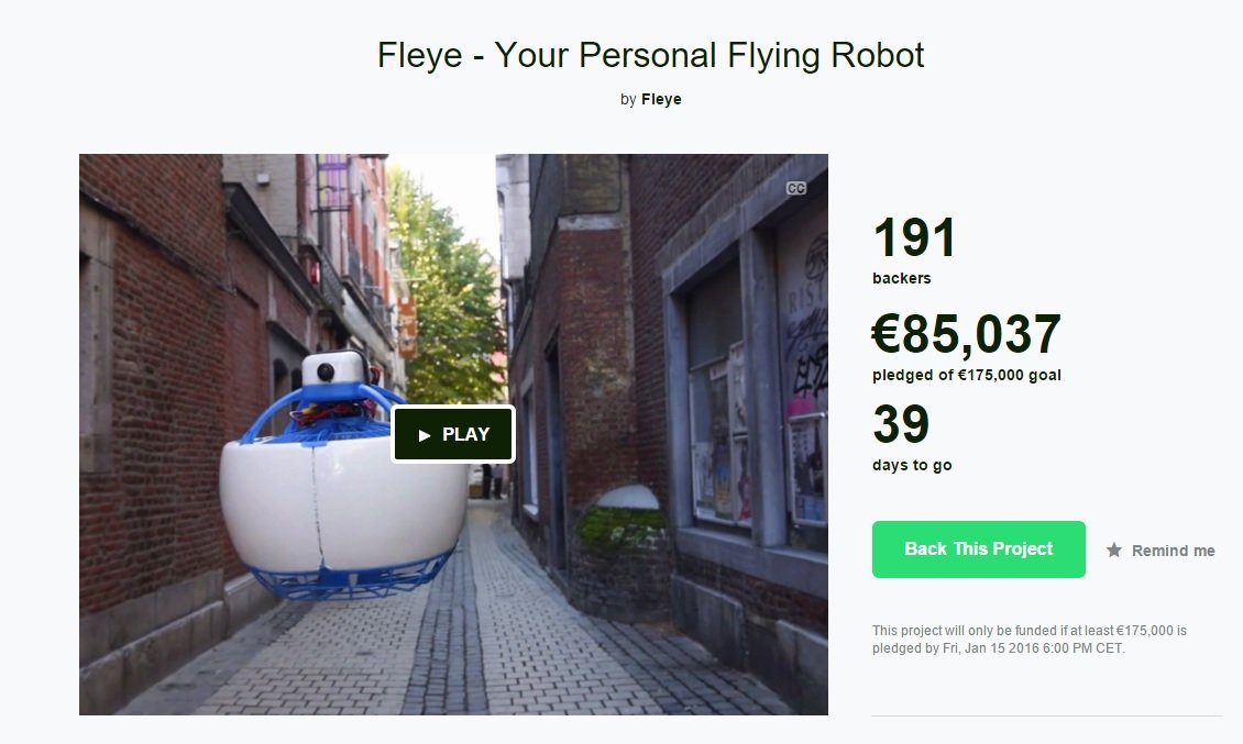 Fleye Kickstarter