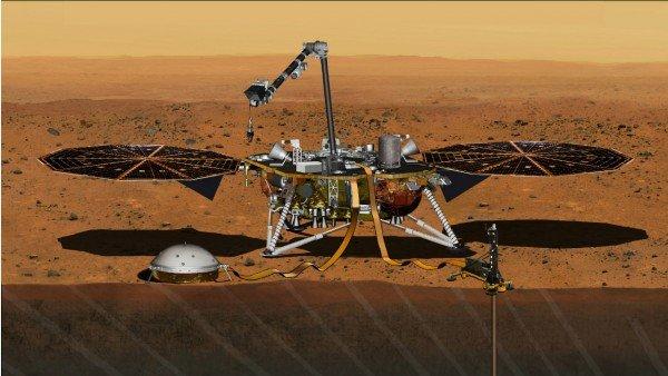 """Mars Lander """"InSight"""" di NASA"""