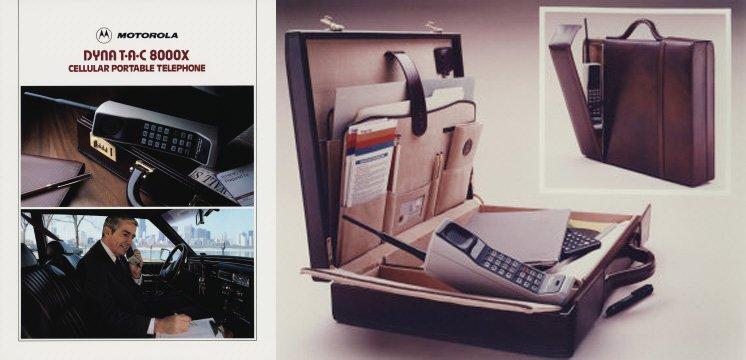 Motorola Dynatac pubblicità
