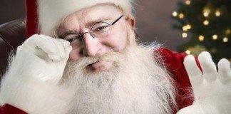Gabe Newell Babbo Natale