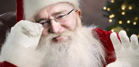Gabe Newell Babbo Natale