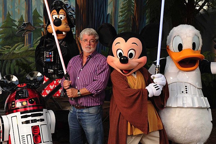 George Lucas, Disney en Star Wars