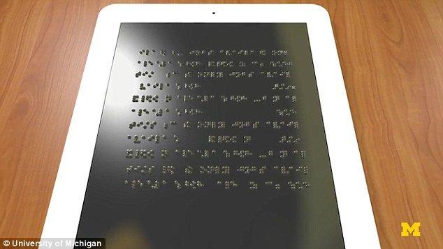 E-reader en braille