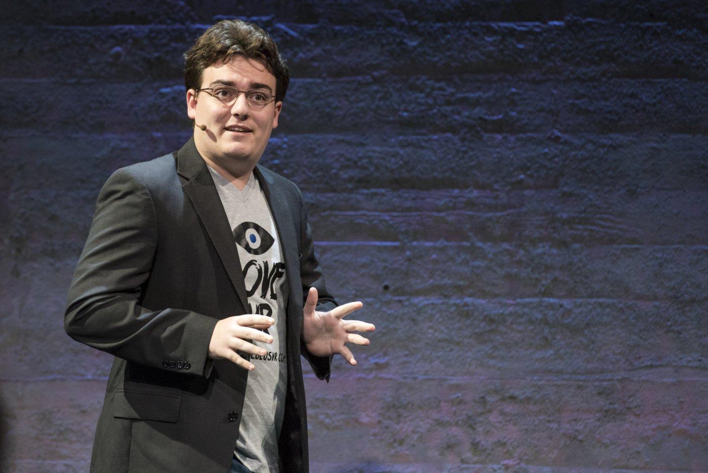 Palmer Luckey, Fondatore di Oculus VR