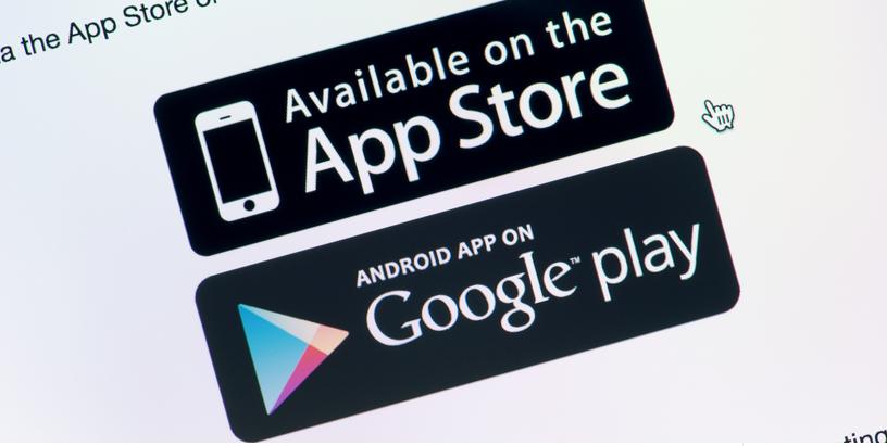 App Store contre Google Play