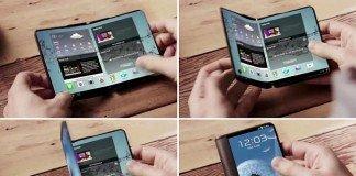 Smartphone con display pieghevoli