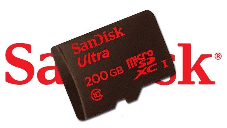Scheda SanDisk MicroSD