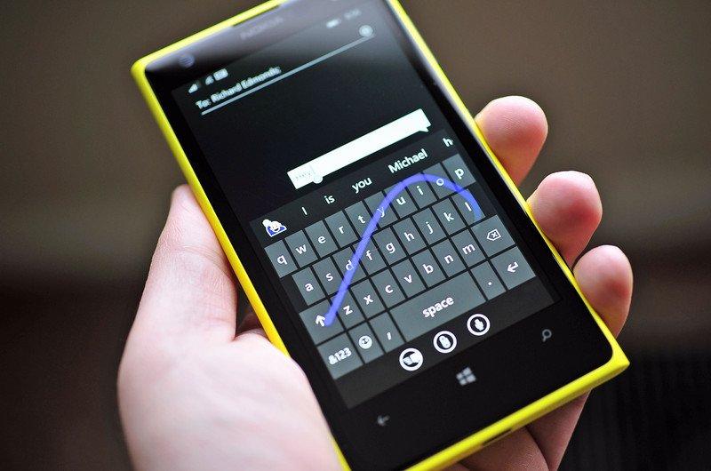 Tastiera Word Flow per Windows Phone
