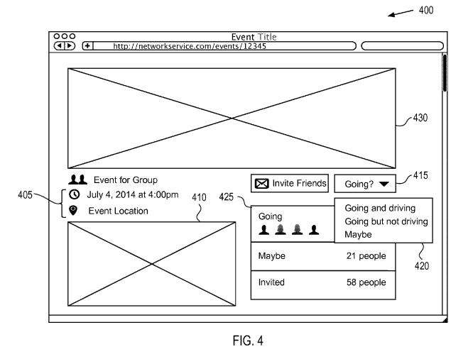 Patente de Facebook