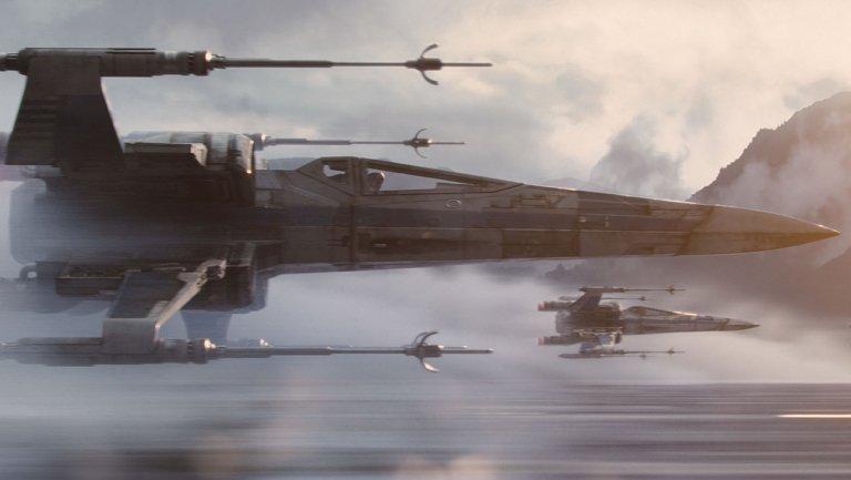 Scena da Star Wars: Il risveglio della Forza