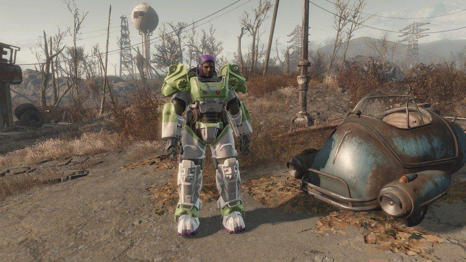 Buzz Lightyear in Fallout 4