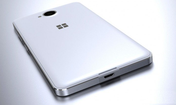 Microsoft lumia 650 back cover