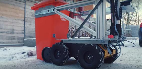 沃尔沃机械化垃圾收集器