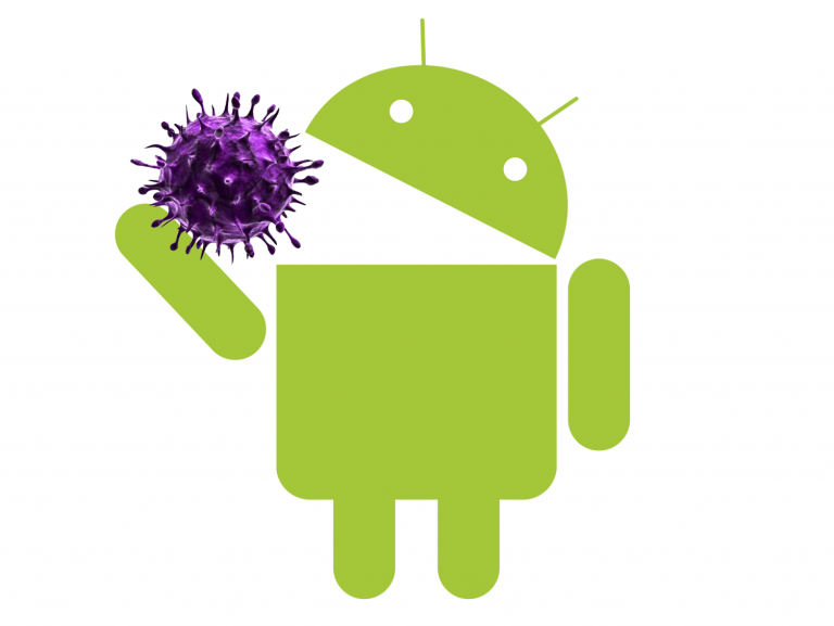Android mangia un virus