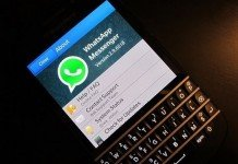 WhatsApp su Blackberry