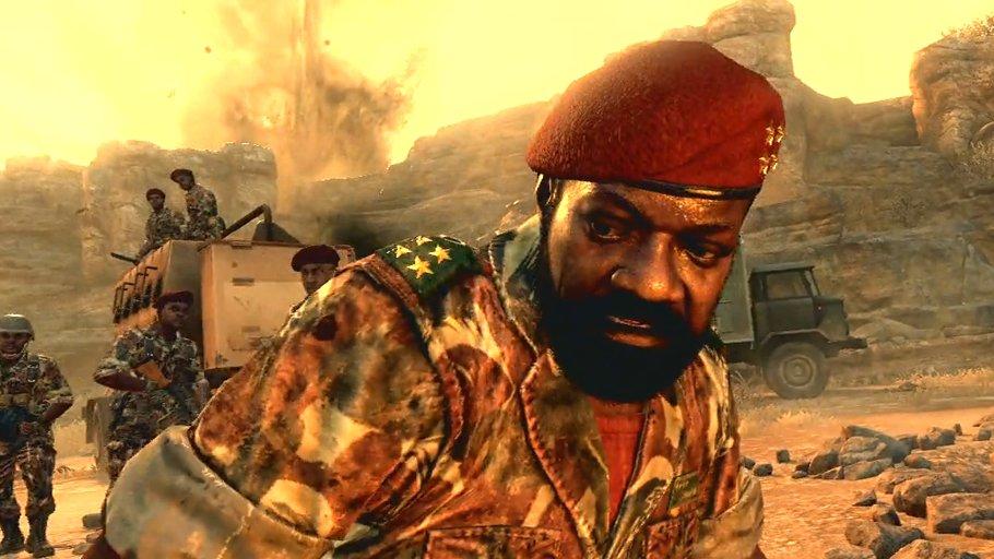 Jonas Savimbi in Call of Duty
