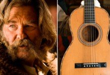 Chitarra distrutta in The Hateful Eight