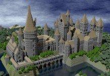 Castello realizzato su Minecraft