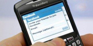 Facebook su BlackBerry
