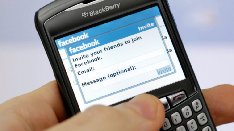 Facebook su BlackBerry