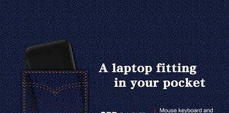 Laptop in you pocket