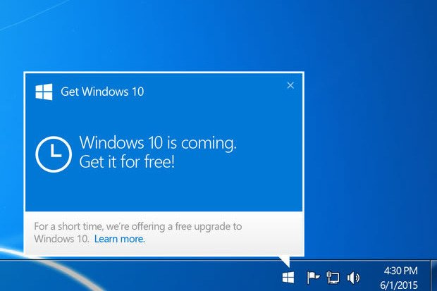 Update naar Windows 10