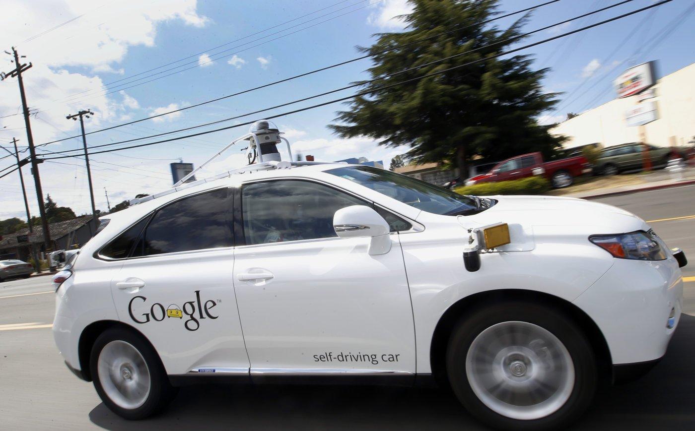 Automobile senza conducente di Google