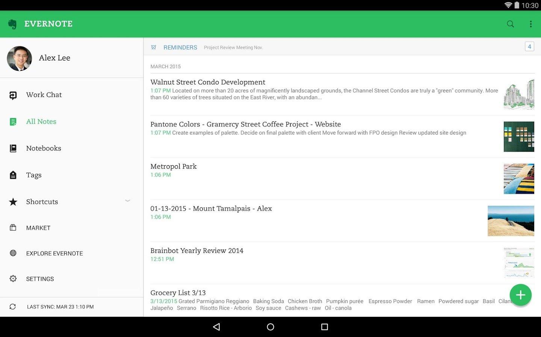 Evernote, un'ottima applicazione per la produttività!