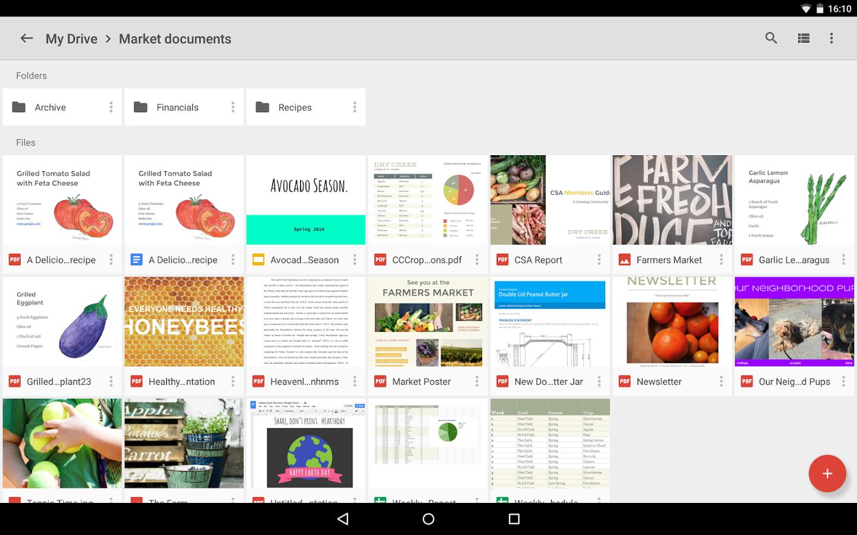 Google Drive, un'ottima applicazione per la produttività!