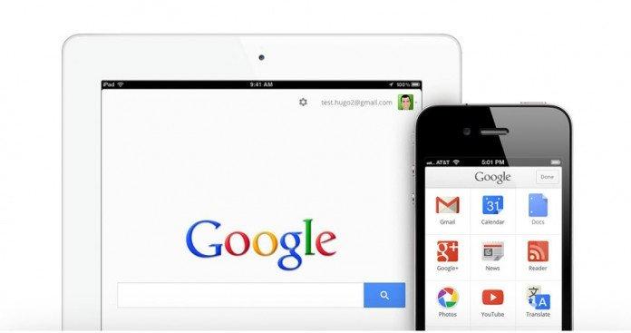 Google su dispositivi iOS