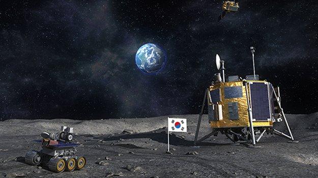 Atterraggio sulla Luna da parte della Corea del Sud