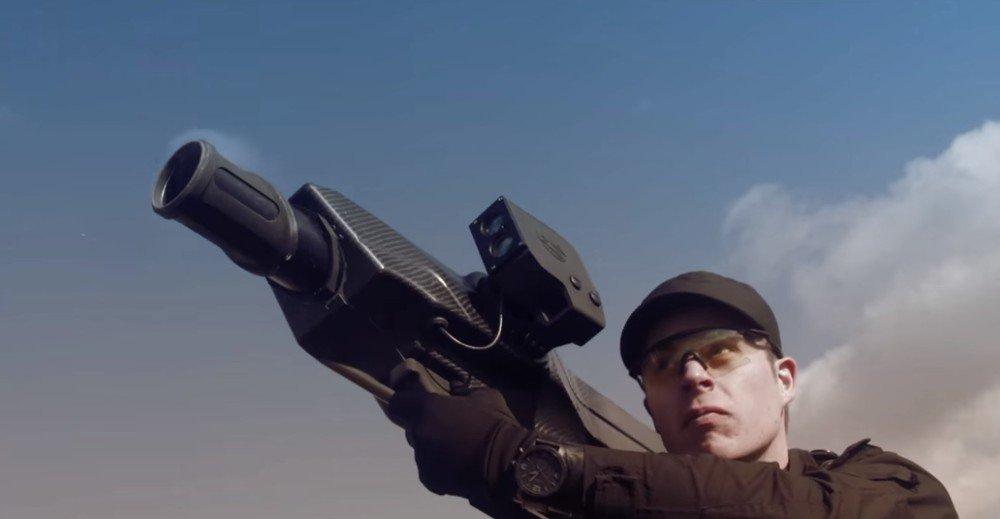 SkyWall 100, bazooka antidrone!