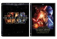 Versione Blu-ray di Star Wars Il risveglio della Forza