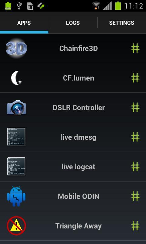 SuperSU, aplicación para Android
