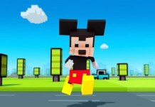 Topolino in Disney Crossy Road