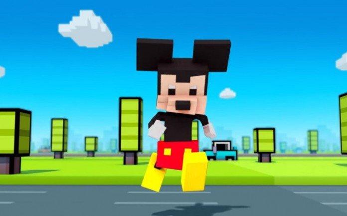 Topolino in Disney Crossy Road
