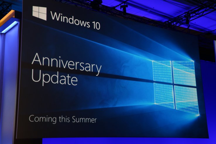 Jubileumupdate van Windows 10