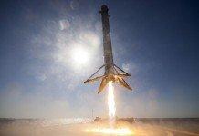Atterraggio del Falcon 9 di SpaceX