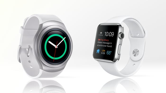 Apple watch samsung gear 2