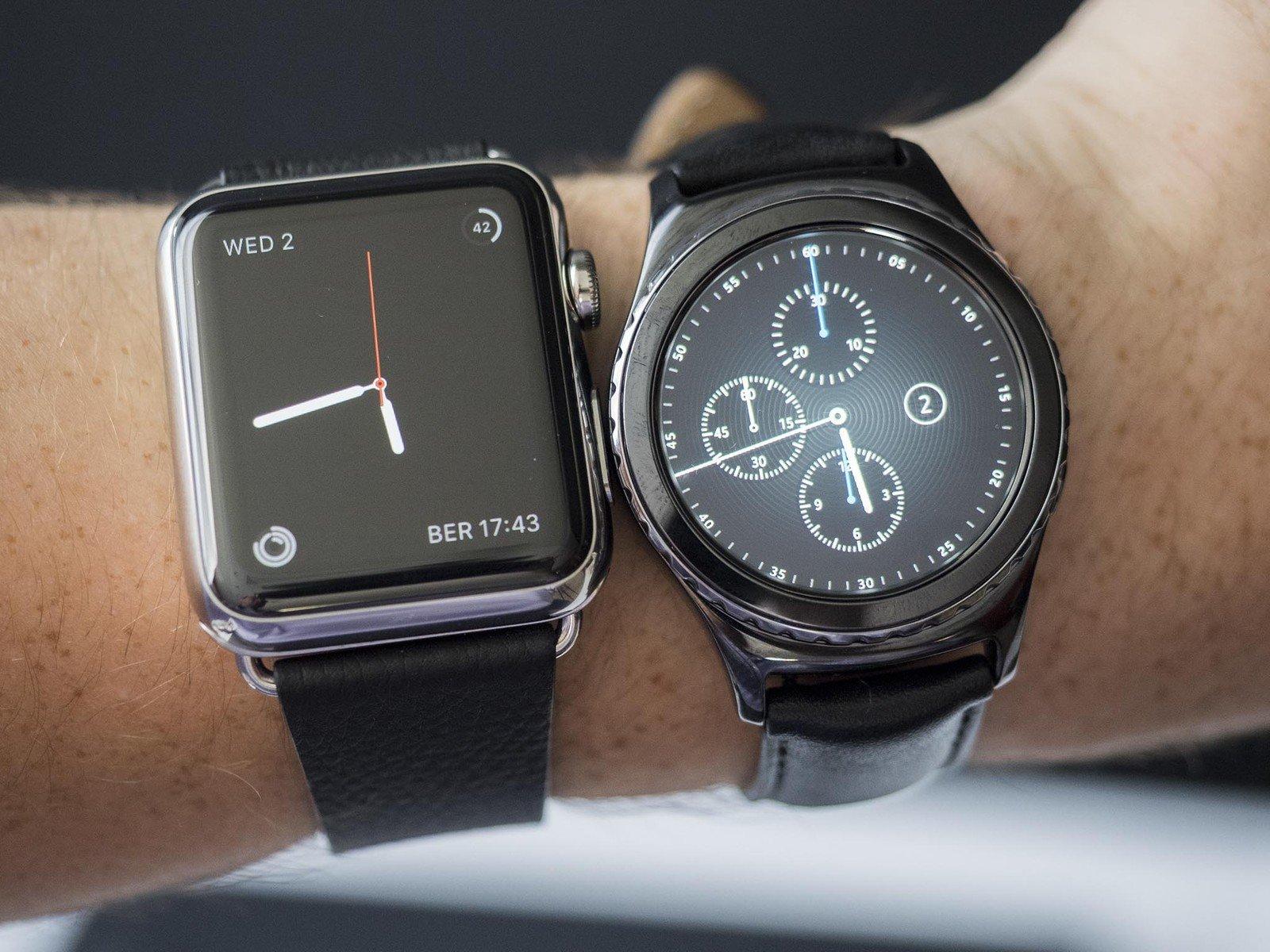 Apple Uhr Samsung Getriebe 2