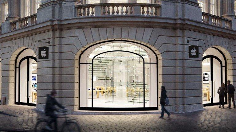 Un Apple Store in Inghilterra